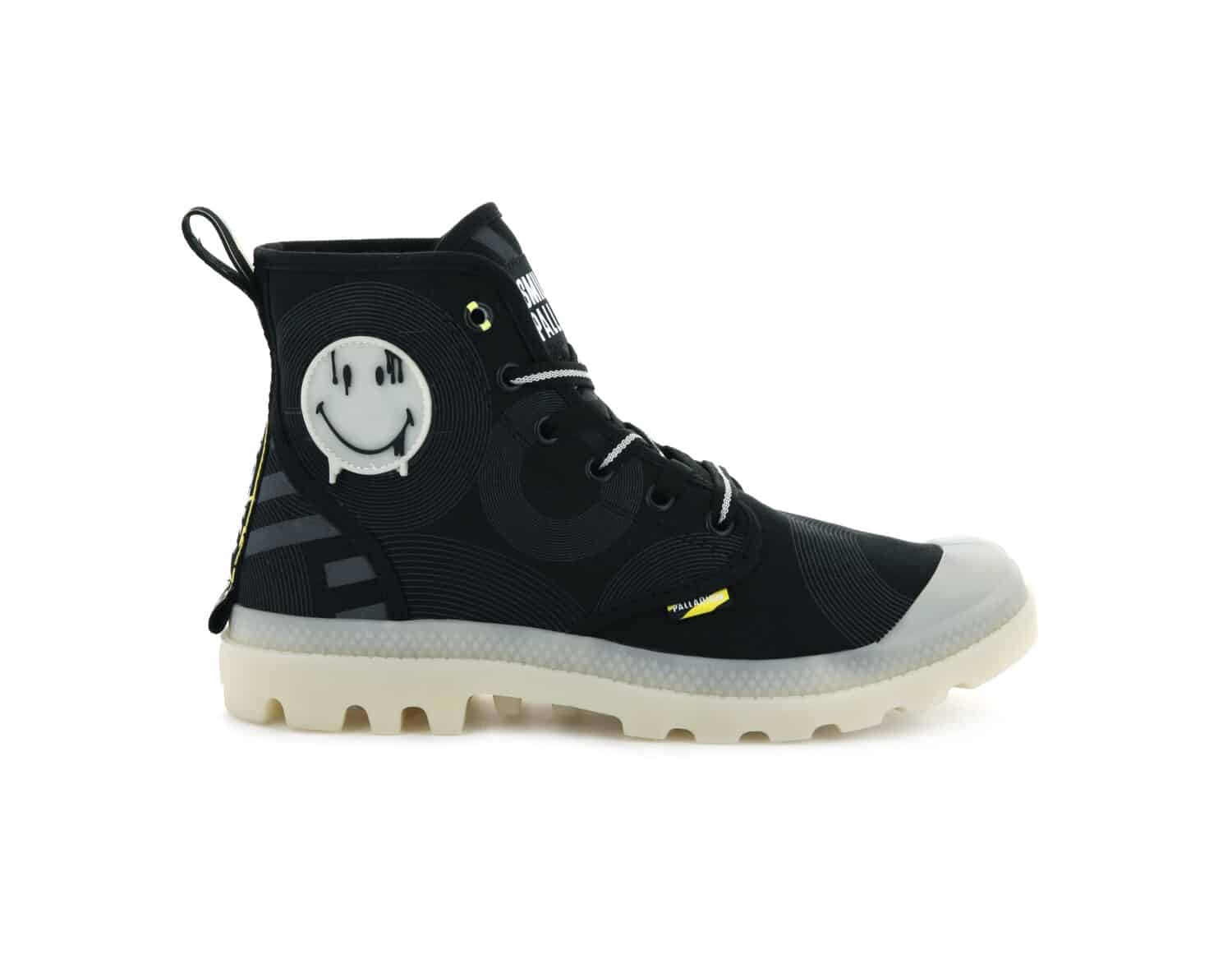 PALLADIUM x SMILEY baskets