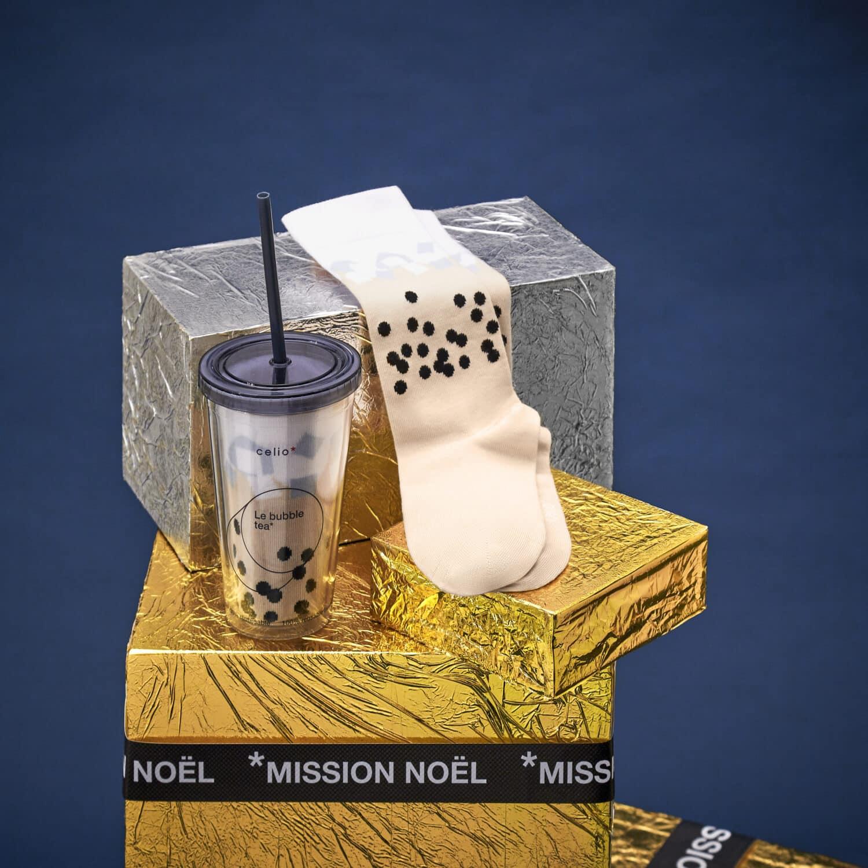 celio collection noel 2020 bubble tea