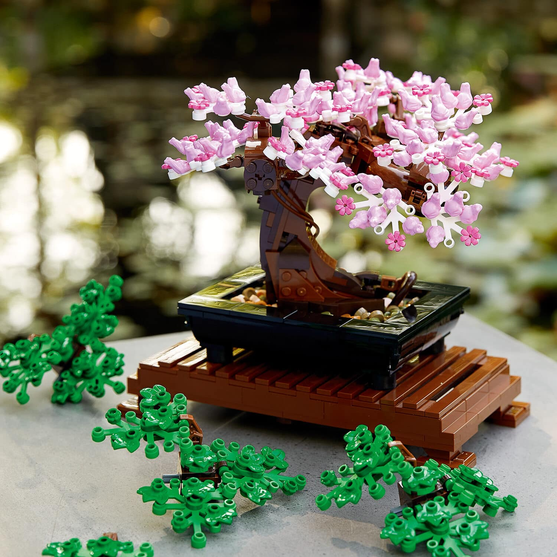 Un bonsaï LEGO , offrir des fleurs qui ne meurent jamais - 49,99 €