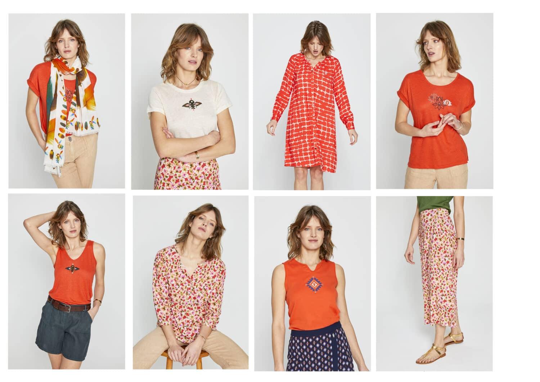 sélection de vêtements pour la fête des mères
