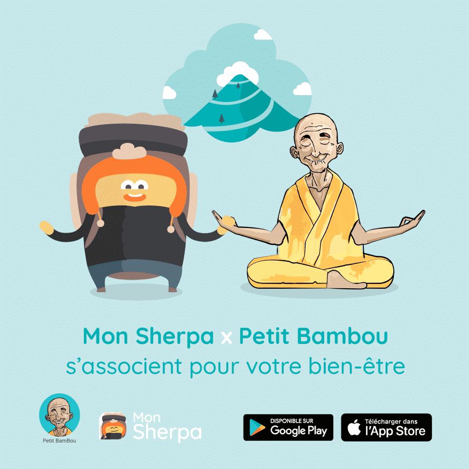 MON SHERPA & PETIT BAMBOU
