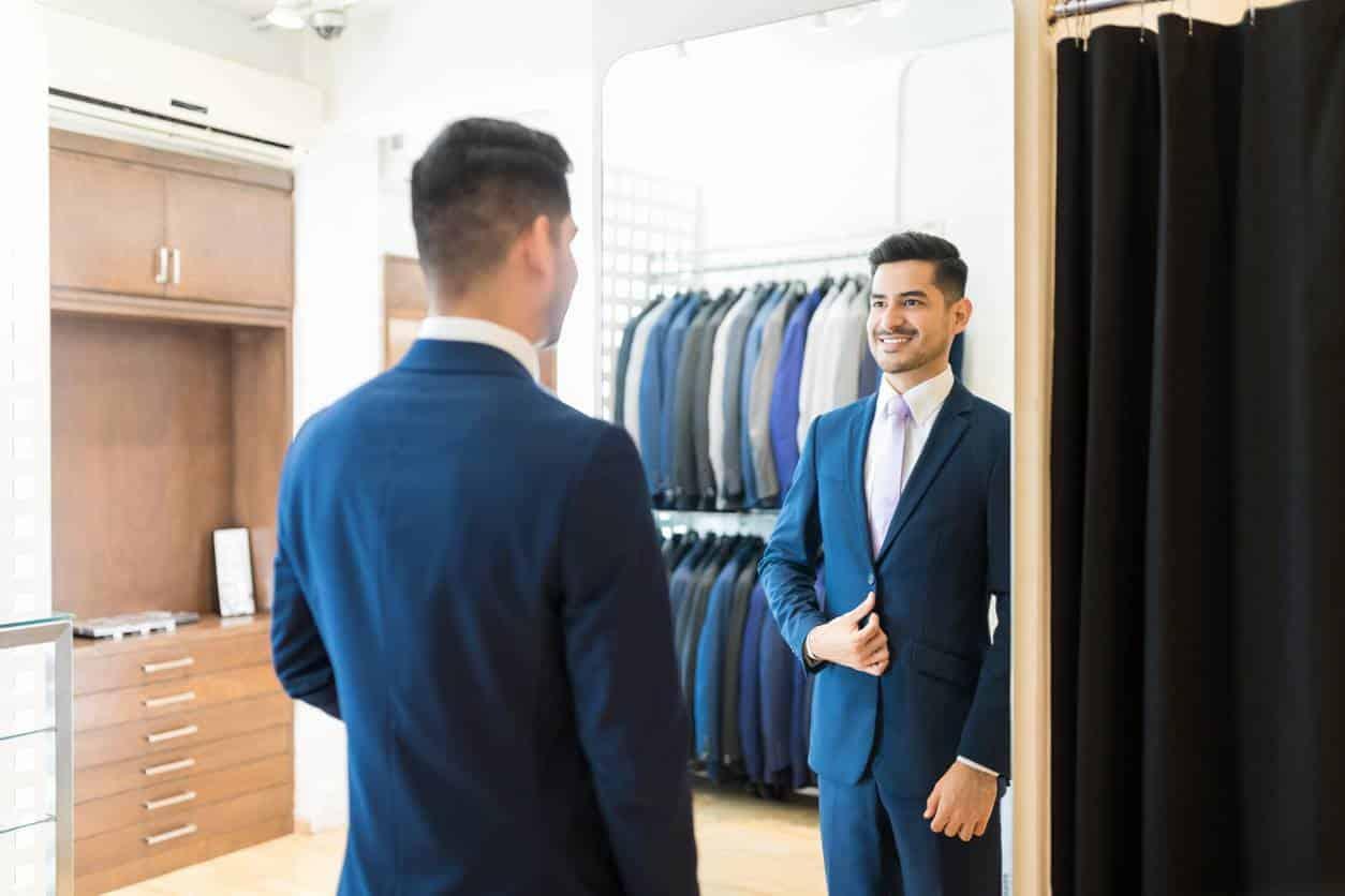 costume sur mesure vêtement homme